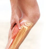 Резкая боль в икре левой ноги