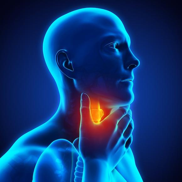 Боль при раке горла