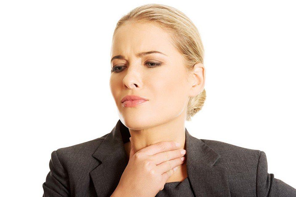 Рак горла первые симптомы у женщин