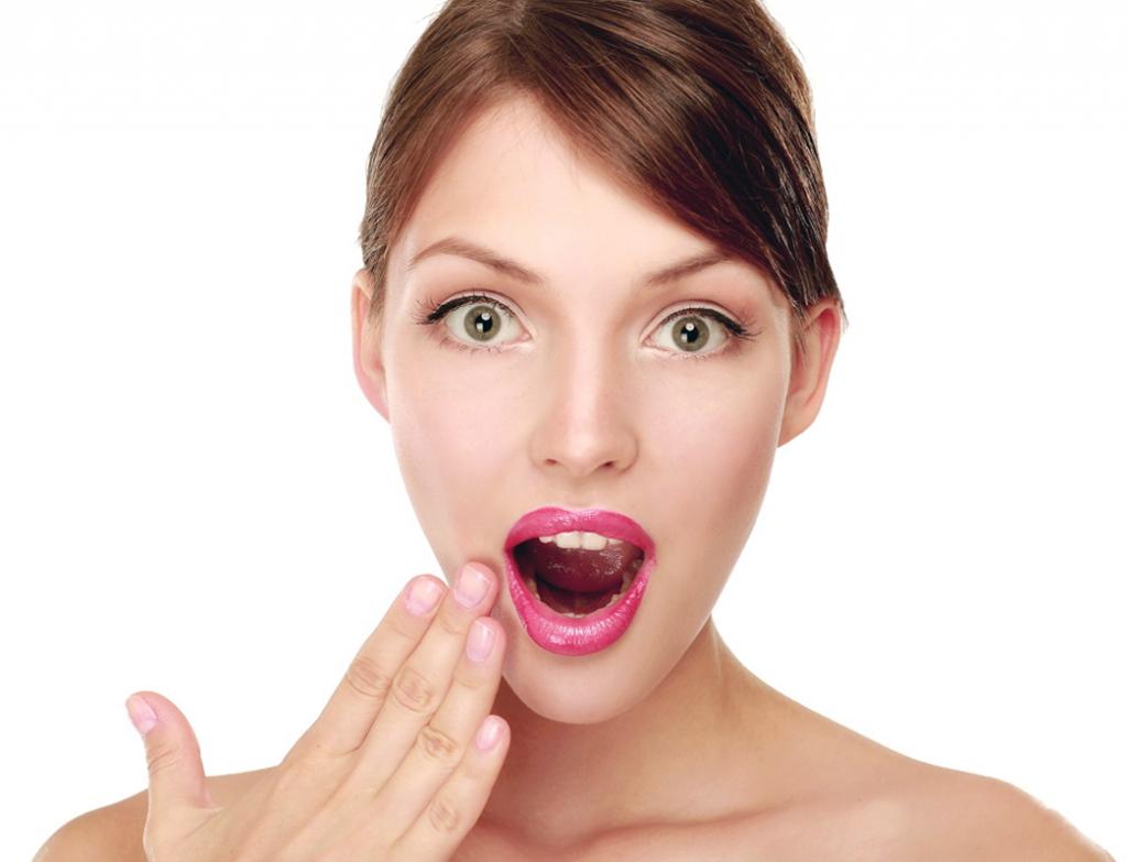 Картинка девушки с открытым ртом