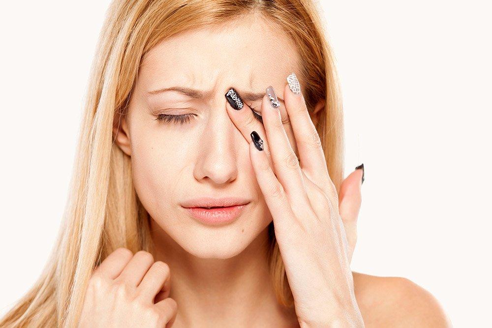 Лечение головной боли и боли в глазах