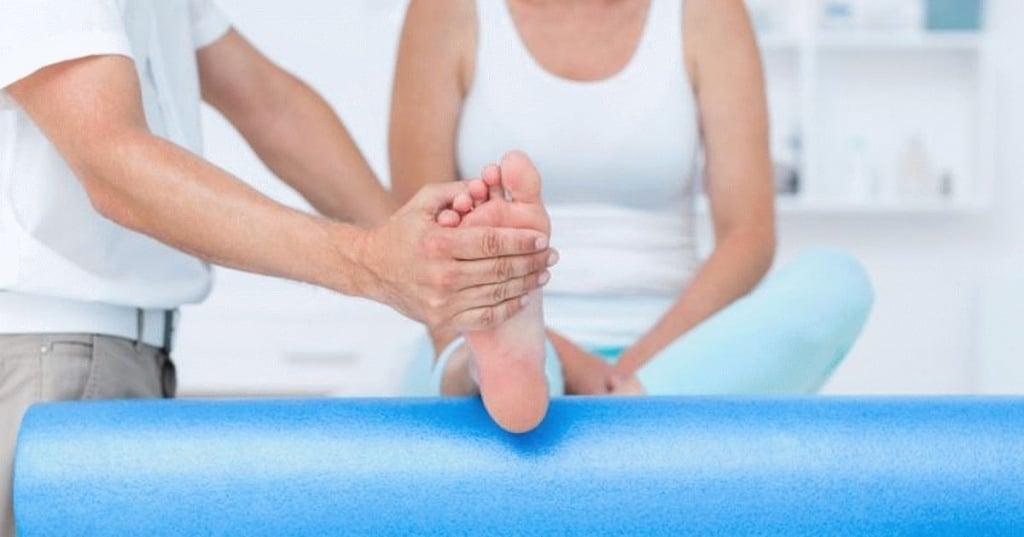 Лечебная физкультура (ЛФК) при переломе лодыжки