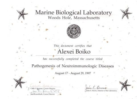 certificate-Marine-Biological-Laboratory