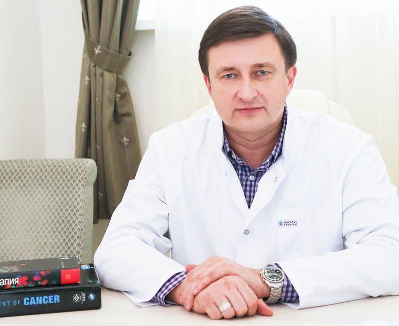 онколог-химиотерапевт Гутник Вадим Валерьевич