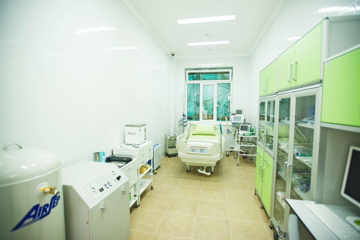 Реанимация в стационаре Юсуповской больницы